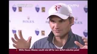 In this interview with Wang Dong taken during the 2013 Shanghai masters, Roger Federer talked about his previous trips to the...