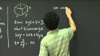 Max/Min | MIT 18.02SC Multivariable Calculus, Fall 2010