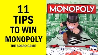 11 Tips: How to Win Monopoly The Board Game