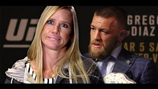 Holly Holm Moves Ahead of Conor McGregor as Most Drug Tested UFC Fighter at 14 Times by MMA Weekly