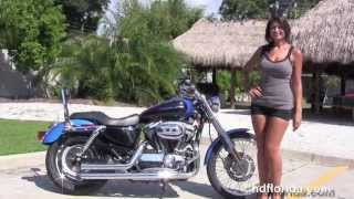 7. Used 2004 Harley Davidson Sportster 1200 Custom Motorcycles for sale