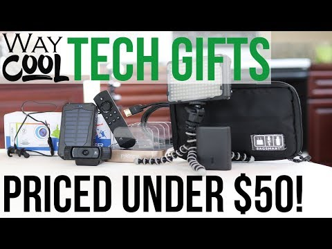 Video Way Cool Tech Gifts Under $50 (Most Under $25) download in MP3, 3GP, MP4, WEBM, AVI, FLV January 2017