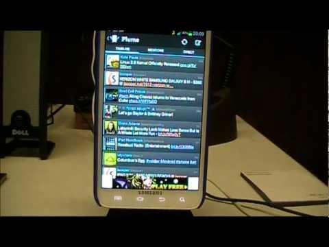 Plume Twitter App