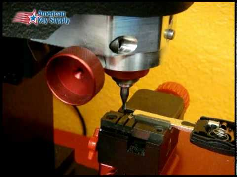 3D Pro Copying a VW High Security Key