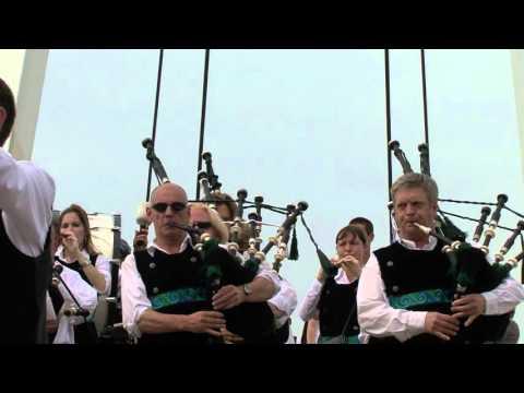Duclair (76) : L'Armada avec le Bagad Avel-Vor