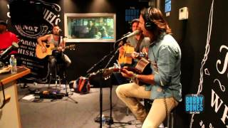 Jake Owen was forced to cut his CMA Fest 2013 show short because of weather so he finished up his set live on the Bobby Bones...