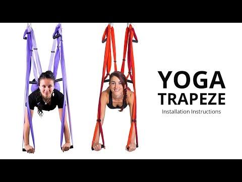 Yoga Trapeze / Yoga Swing - Setting & Hanging Instructions