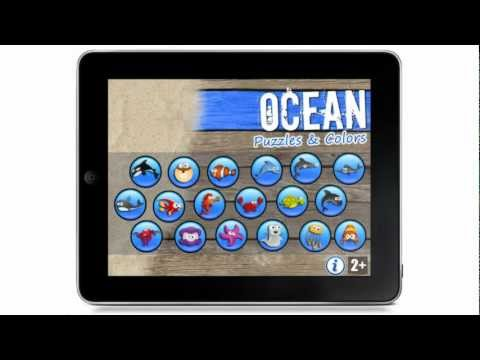 Video of Ocean - Puzzles Games for Kids