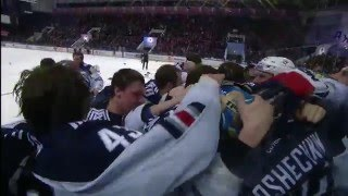 Last seconds of 2015-2016 KHL season