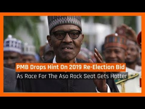 Nigeria News Today: Buhari Drops Hint About His 2019 Re-election Bid (29/11/2017)