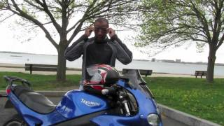 9. Laminar Lip installed and Reviewed on Triumph Sprint.