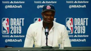 Zion Willamson Press Conference | NBA Draft 2019 by NBA
