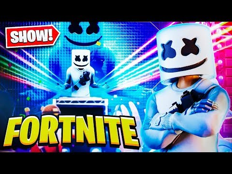 SHOW DO MARSHMELLO COMPLETO NO FORTNITE! EVENTO AO VIVO!