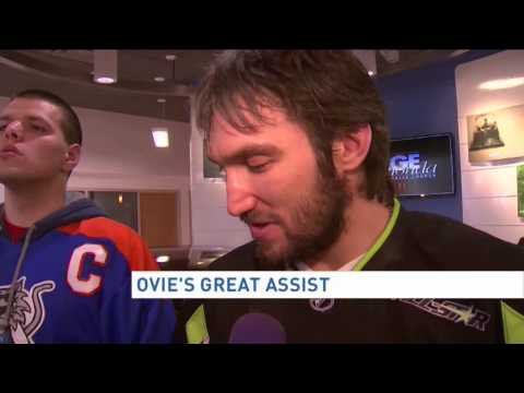Ovechkin donates NHL All-Star prize car to local Special Hockey program