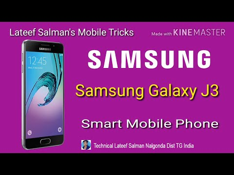 Samsung Galaxy J3 Smart Mobile Phone Review