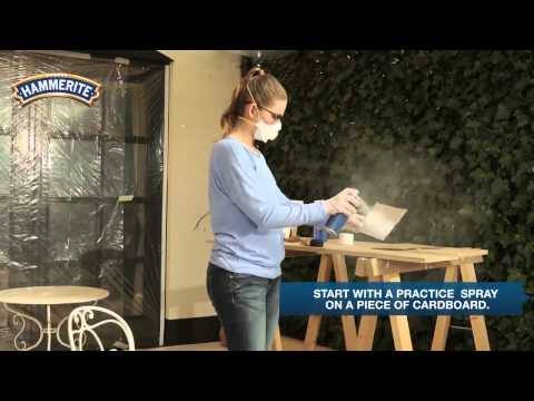DIY: How to Spray Paint Metal Furniture