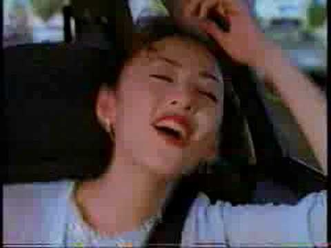 Leonardo DiCaprio in a 1995 Japanese Honda Civic ad