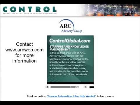 Staffing and Knowledge Management for Process Automation video with ARCs Dave Woll