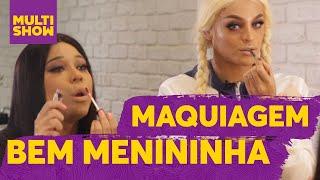 Tutorial de Maquiagem  Blogueirinha de Merda + Pabllo Vittar  Bem Menininha