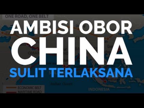 Ambisi Obor China Sulit Terlaksana