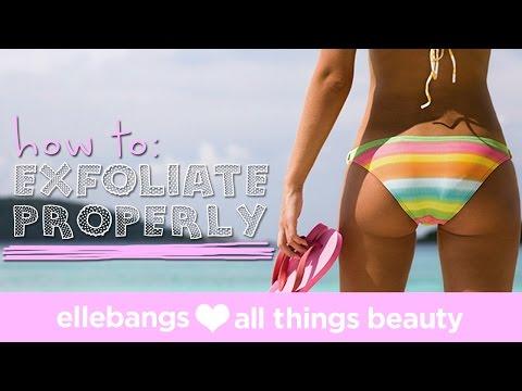 how to exfoliate a skin