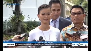 Video Agnez Mo Bertemu Jokowi di Istana Membahas Semangat Generasi Muda MP3, 3GP, MP4, WEBM, AVI, FLV Maret 2019