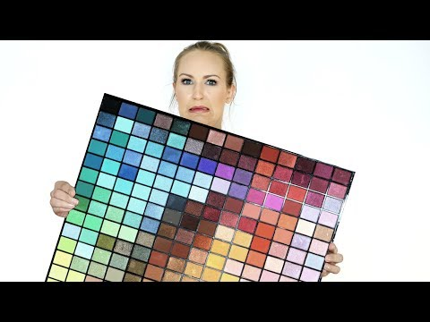 Destroying the 196 Colour Spectrum Palette by Revolution Beauty | THE MAKEUP BREAKUP