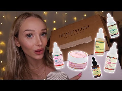 ASMR PR Unboxing! Beautylish Good Molecules Skincare Haul