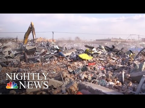 Chinese Workers Evicted In Massive Housing Crackdown | NBC Nightly News