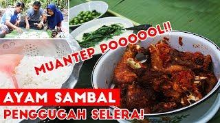 Video Ayam Sambel Merah + Bobor Bayam + Lalapan Leunca !! TOP MARKOTOP!!! MP3, 3GP, MP4, WEBM, AVI, FLV Juli 2019