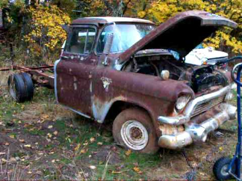 1957 GMC runs again! 2