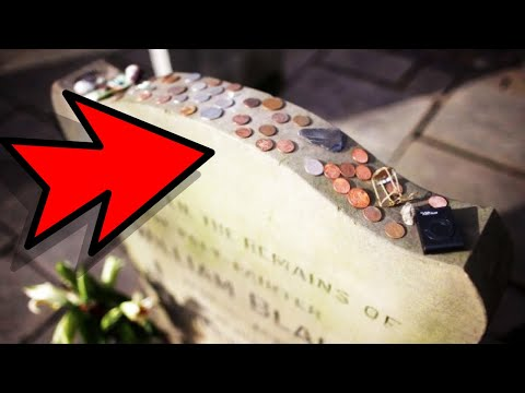 If You Ever See A Quarter Resting On Top Of A Grave Stone, Don't Touch It