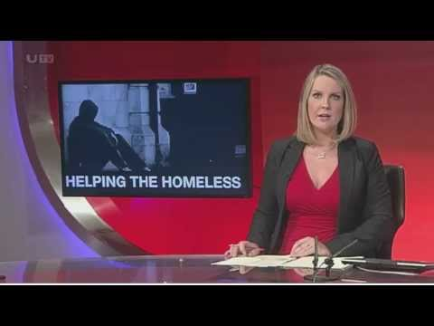Ballymena Fixer, Matt Smyth, 22, is raising awareness of the reasons which often force young people onto the streets to prevent stereotyping of homeless people. This story about his campaign was shown on UTV Live in July 2013.