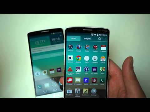 Verizon - http://www.droid-life.com - In this latest clip, we take a quick look at the LG G3 on Verizon, while comparing it to the AT&T model.