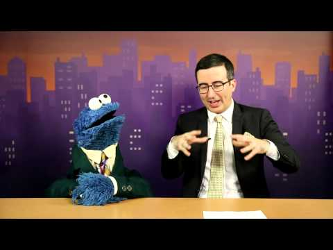 Tonight - Cookie Monster has a few ideas to share with John Oliver. John just wants you to watch their special news report on words, which can be found here: http://youtu.be/iLi2xB82ZyI Filmed in collabora...