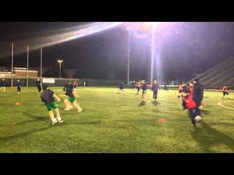 Calcio: giro-palla coordinativo/aerobico 1