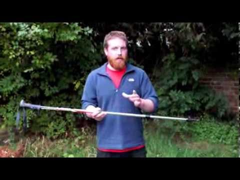 How to Adjust Telescopic Walking Poles
