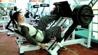Силовой тренинг «ноги»
