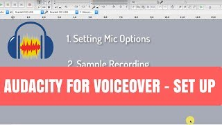 Video Audacity Basics for VoiceOver Audio MP3, 3GP, MP4, WEBM, AVI, FLV Mei 2019