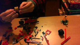 Lego NinjaGo 2012 Kai's Blade Cycle 9441 Time Lapse Building