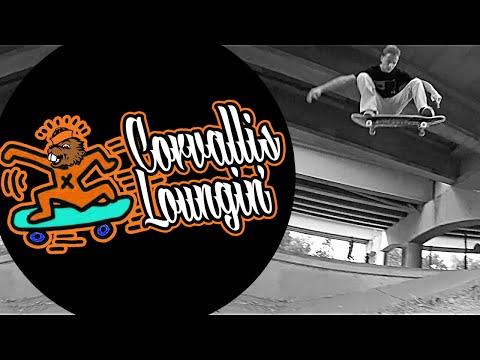 CORVALLIS LOUNGIN' - OREGON SKATEBOARDING FALL 2015