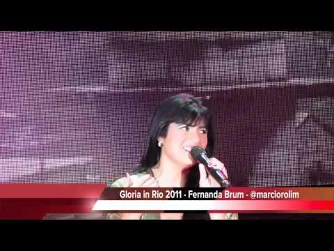 Grava��o DVD Gloria in Rio - Melhores Momentos por M�rcio Rolim
