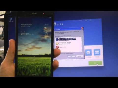 how to enable usb debugging on xperia p