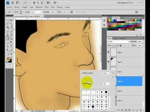 como crear una foto en caricatura con photoshop cs3 cs4 cs5   tutorial