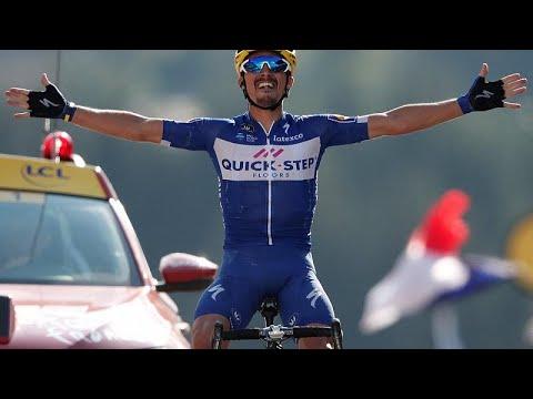 Tour de France: «Έσπασαν το ρόδι» Αλαφιλίπ και Γαλλία