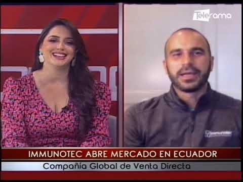Immunotec abre mercado en Ecuador compañía global de venta directa