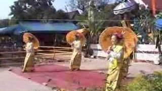 Chiang Mai Traditional Thai Music And Thai Dance