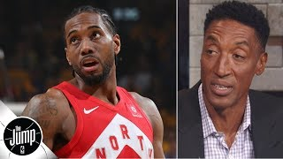 Video Kawhi Leonard should stay with the Raptors for one more year - Scottie Pippen | The Jump MP3, 3GP, MP4, WEBM, AVI, FLV Juni 2019