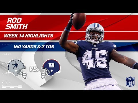 Video: Rod Smith Breaks Off 2 TDs & 160 Yards vs. NY! | Cowboys vs. Giants | Wk 14 Player Highlights