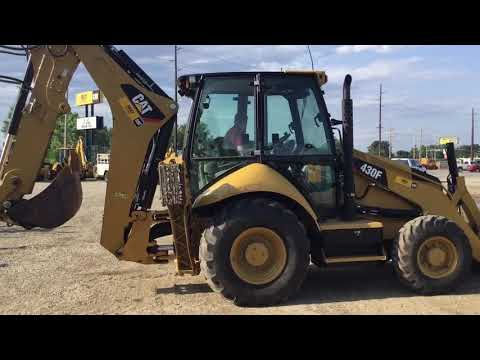 CATERPILLAR BACKHOE LOADERS 430F equipment video Inl6RBBuuSY